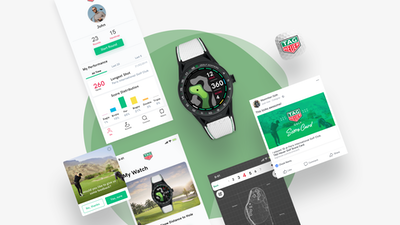 TAG HEUER CONNECTED GOLF APP